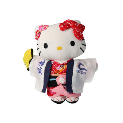Hello kitty with CHI2021 happi coat